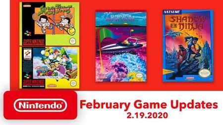 Pop'n TwinBee y Blue Shadow entre los nuevos clásicos de SNES y NES que llegarán a Nintendo Switch Online en febrero