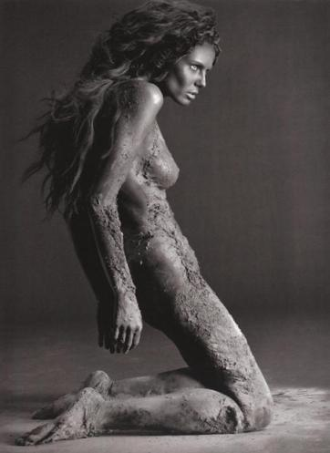 Heidi Klum se desnuda para un libro
