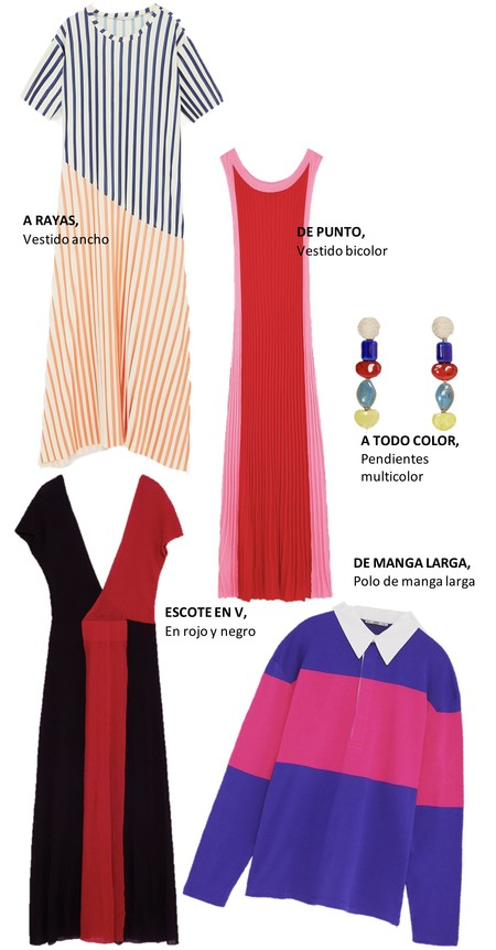 Color Block Tendencia