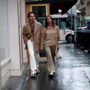 La calidez de los tonos crudos triunfa en el mejor street-style de la semana inspirándonos con éstos grandes looks