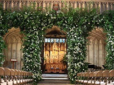 Boda de Meghan Markle y el Príncipe Harry: así de increíble ha quedado la capilla