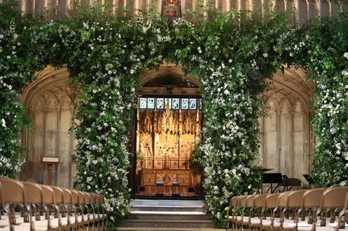 Boda de Meghan Markle y el Príncipe Harry: así de increíble ha quedado la decoración de la capilla