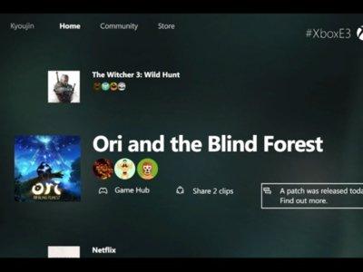 Windows 10 y la grabación DVR de TV llegarán en noviembre a la Xbox One
