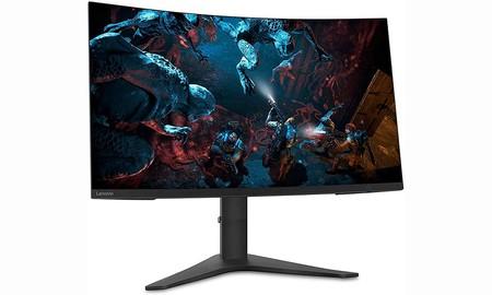 """Amazon iguala el precio de PcComponentes para un monitor gaming curvo de 32"""" como el Lenovo G32qc-10: lo tienes por 369 euros con envío gratis"""