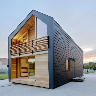 LeapHouse, la casa prefabricada muy funcional y encantadora para vivir reduciendo costes e impacto ambiental