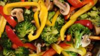 Llena la mitad de tu plato con verduras
