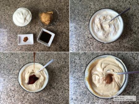 Dip Yogur Cacahuate Pasos