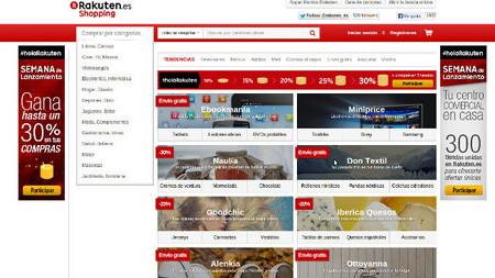 Rakuten llega a España, un gigante del comercio electrónico con el que competir