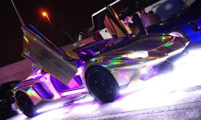 Lamborghini Aventador 'Gusiluz Limited Edition': ahora, sacando llamas por el tubo de escape