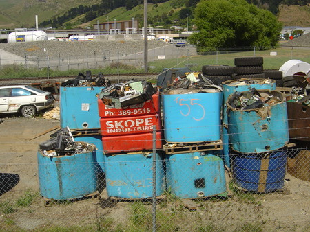 Electronic Waste Stockpile Christchurch New Zealand