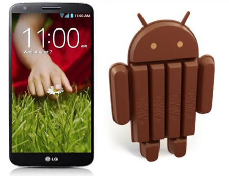 LG G2 recibe Android 4.4.2 (KitKat) en España
