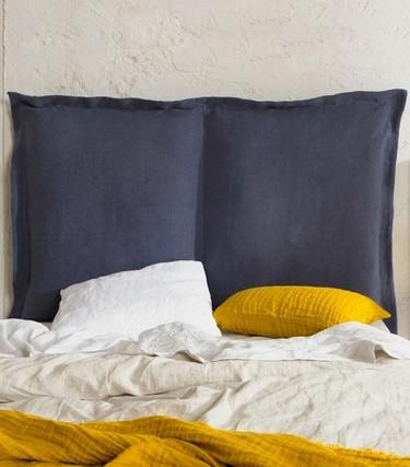 Cabeceros de lino: una solución sencilla para dar un toque muy personal a tu dormitorio