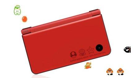 Nintendo DSi XL para conmemorar el 25 aniversario de Mario, otra joya que ni oleremos