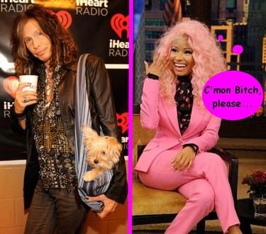 Nicki Minaj sigue haciendo amigos en American Idol, le toca el turno a Steven Tyler