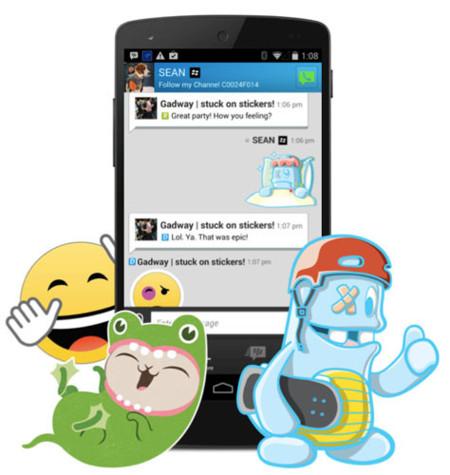 BBM 2.1 para Android, ahora con stickers, archivos adjuntos de hasta 16 MB y más