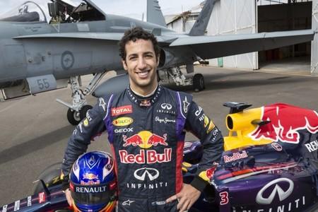 Red Bull se enfrenta a un avión a reacción de la fuerza aérea australiana