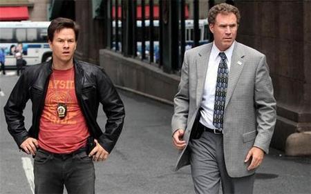 'The Other Guys', con Will Ferrell y Mark Wahlberg, cartel animado y fotos