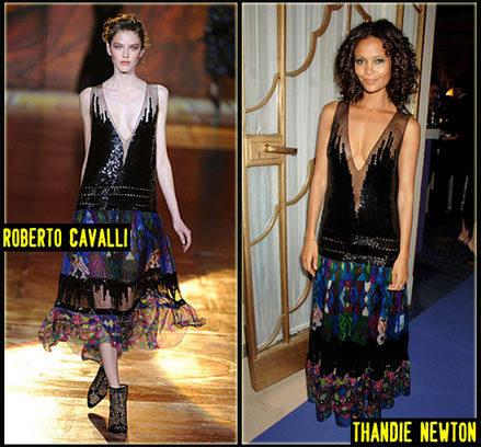 Thandie Newton de Roberto Cavalli