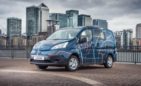 Nissan crea la primera oficina móvil 100% eléctrica con la e-NV200 WORKSPACe