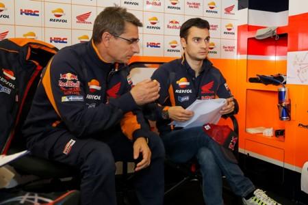 Dani Pedrosa apunta a los Michelin como principal problema de la temporada