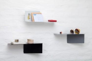 Estantes de pared multiposición de Felix Klingmüller