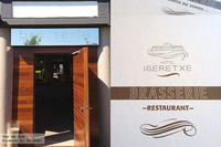 Igeretxe, una brasserie a pie de playa