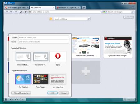 Opera 11.50 Swordfish ya tiene versión beta