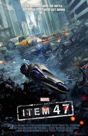 Imagen con el cartel de 'Marvel Extendido: Artículo 47'