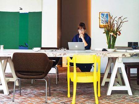 Casas poco convencionales: vivir en una galería de arte
