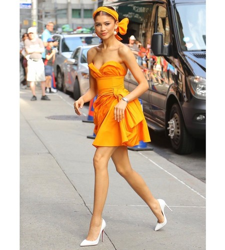 Tres lecciones de estilo de Zendaya en NY con tres looks increíbles