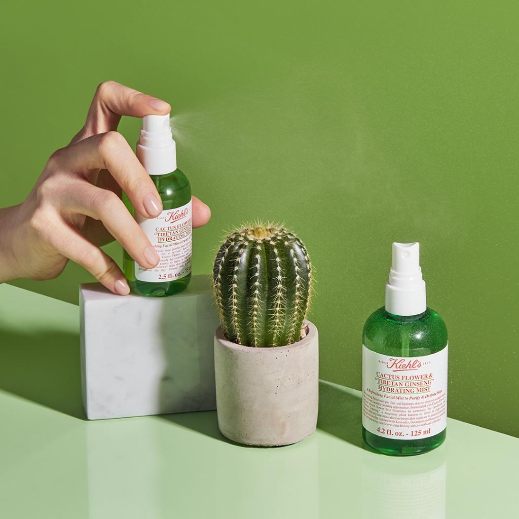 Tónico facial hidratante Cactus Flower & Tibetan Ginseng