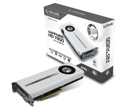 Nueva Sapphire HD 7950 Mac Edition, potencia gráfica para el Mac Pro