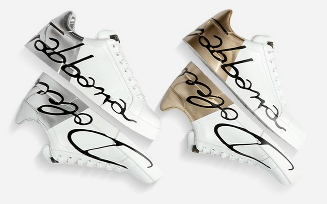 Firmadas por sus creadores, Dolce & Gabbana nos muestran los sneakers definitivos de la temporada