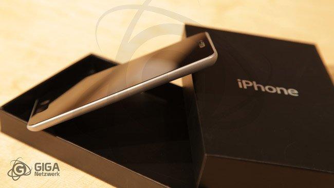 Recreación de lo que podría haber sido el iPhone