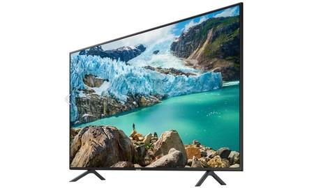 Una gran smart TV de 55 pulgadas como la reciente Samsung UE55RU7172 se nos queda con el cupón PDESCUENTO15 de eBay por sólo 379,99 euros