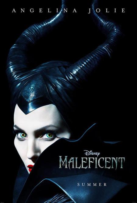 Angelina Jolie Maléfica cartel poster