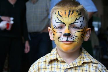 Ejemplos de maquillaje de cara para niños