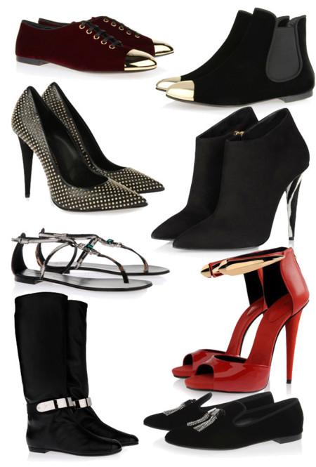 zapatos sandalias Giuseppe Zanotti