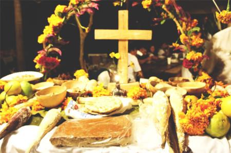 Cruz Altar de muertos
