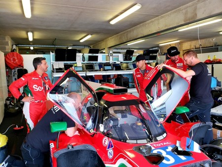 Roberto Gonzalez 24 Horas Le Mans 2018