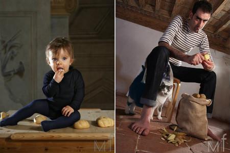 Ritratti alimentari, sugerentes fotografías de retratos gastronómicos
