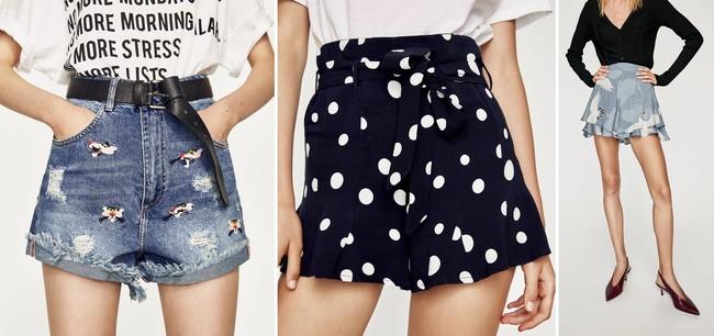 Shorts Estampados Rebajas 2018 Zara 2