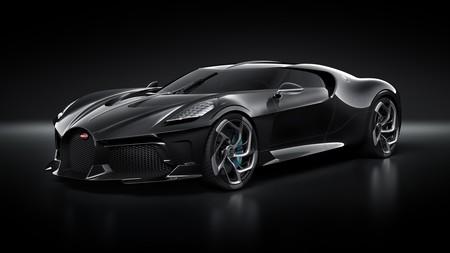 """El Bugatti """"La Voiture Noire"""" es el coche nuevo más caro jamás vendido, un espectacular one-off de 1.500 CV"""