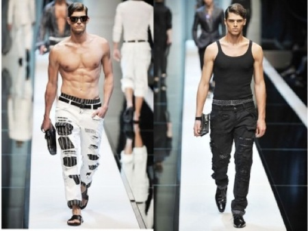 Tendencias futuras: Pantalones destrozados, por Dolce & Gabbana III