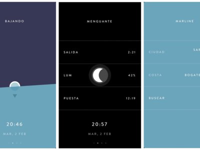 Marline, una aplicación meteorológica para los que miran al cielo y al mar