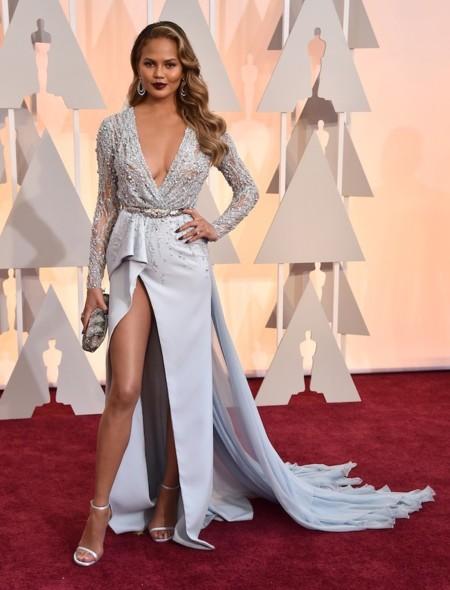 Chrissy Teigen Oscar 2015 1