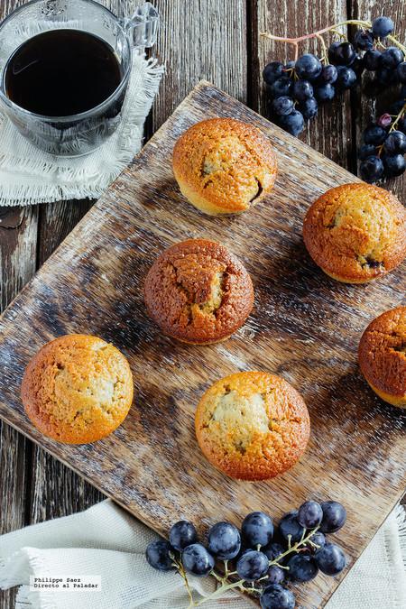Muffins Uva