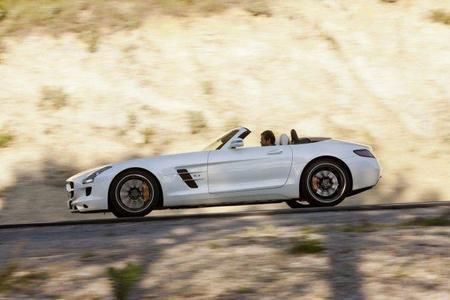 Mercedes SLS AMG Roadster: llegará en otoño