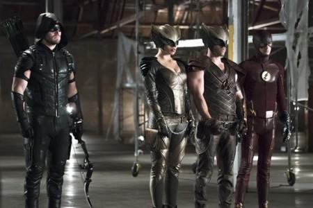 Hawkman Hawkgirl Arrow The Flash