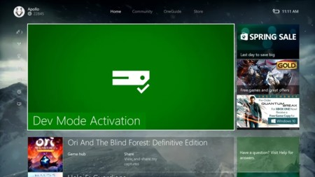 Ya es posible convertir una Xbox One normal en un kit de desarrollo